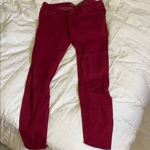 Red jeans express